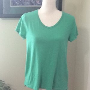 EUC ❤️ MERONA mint green s/s scoop neck T-shirt